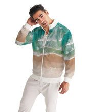 Load image into Gallery viewer, Silver Fox Cuban Nights - Ocean Bomber Jacket
