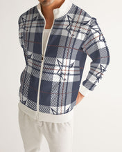 Load image into Gallery viewer, Silver Fox Signature Plaid Collection Bomber