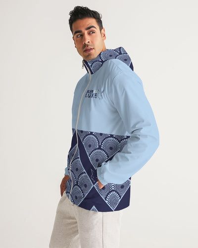 Silver Fox Royalty Lt Blue Windbreaker