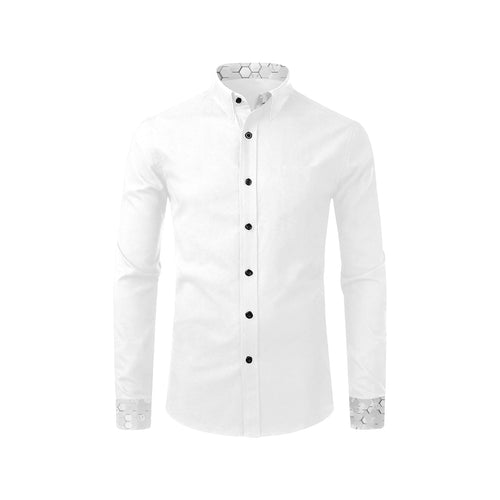 Silver Fox Luxe Reverse White Cyber Dress Shirt