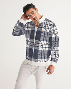 Silver Fox Signature Plaid Collection Bomber
