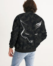 Load image into Gallery viewer, Silver Fox Dark Camo Bomber Jacket