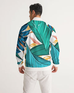 Silver Fox Cuban Nights - Tropical Bomber Jacket