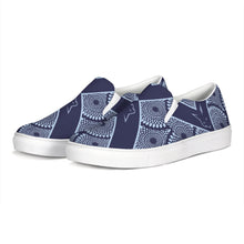 Load image into Gallery viewer, Silver Fox Royalty Collection Slip-On Canvas Shoe