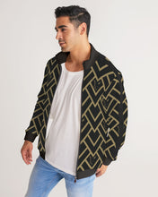 Load image into Gallery viewer, Silver Fox Black Royalty Track Jacket