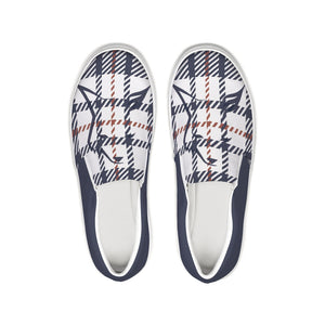 Silver Fox Signature Plaid Slip-On Canvas Shoe