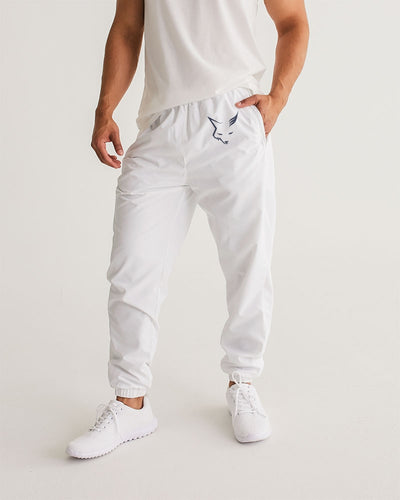 White Silver Fox Track Pants - Signature Plaid