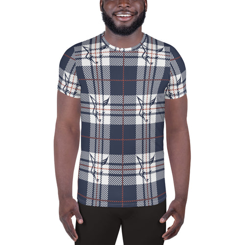 Silver Fox Signature Plaid Athletic T-shirt