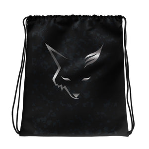 Silver Fox Drawstring bag - Dark Camo