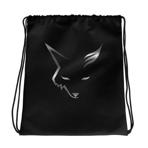 Silver Fox Drawstring bag