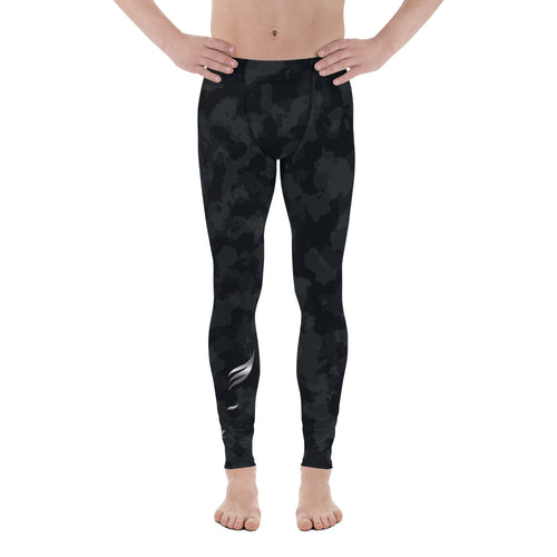 Silver Fox Men's Leggings - Dark Camo
