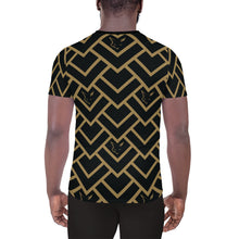 Load image into Gallery viewer, Silver Fox Black Royalty Athletic T-shirt