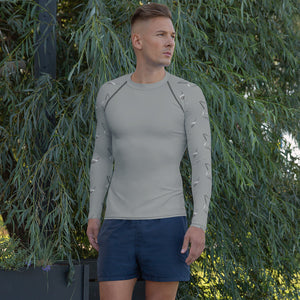 Silver Fox Rash Guard - Gray