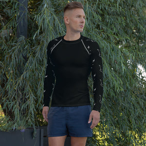 Silver Fox Rash Guard - Black
