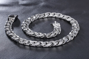"Men's Necklace 26"" Stainless Steel"