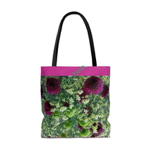 Load image into Gallery viewer, FRESH Floral AOP Tote Bag - Art by Zana