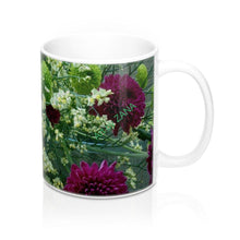 Load image into Gallery viewer, FRESH Floral Mug 11oz - Art by Zana