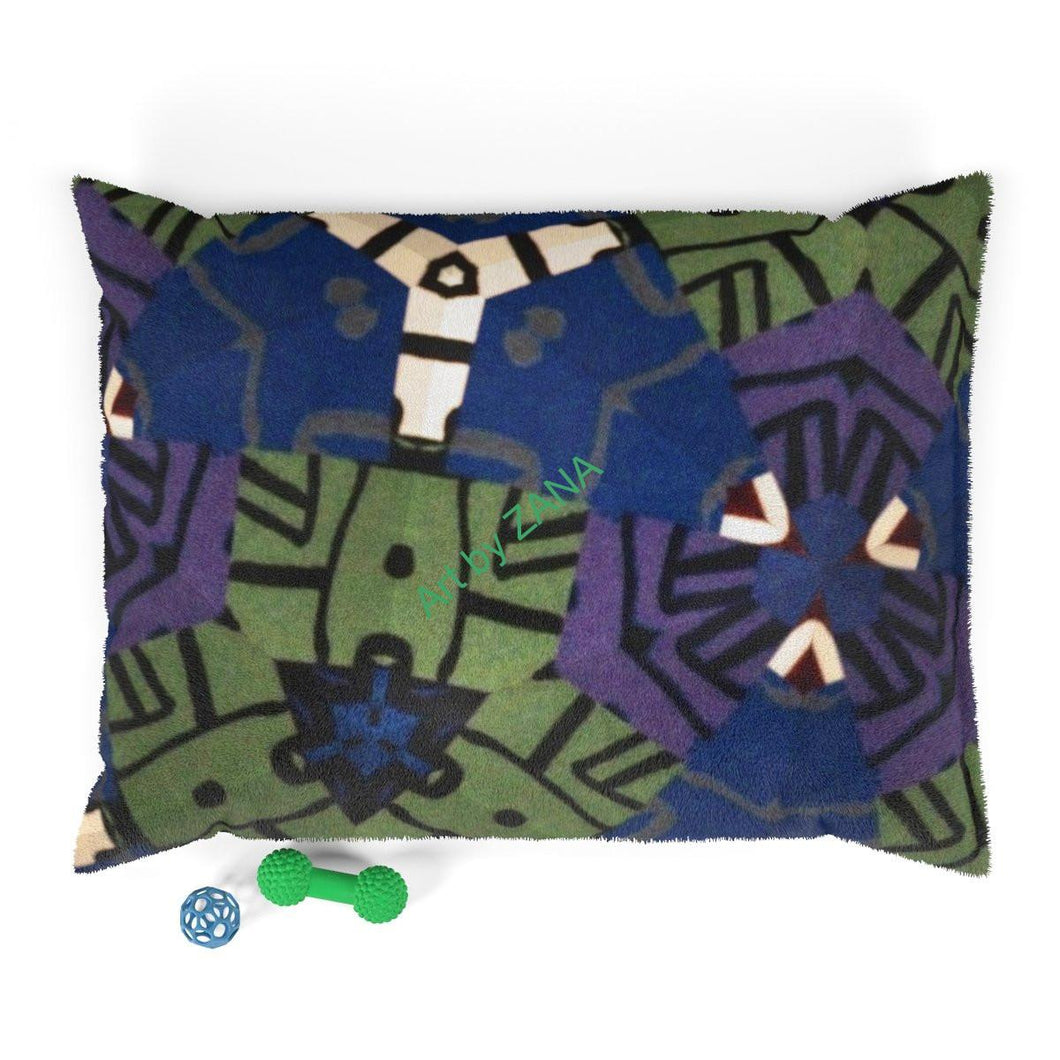 Home Decor Collection Pet Bed - Art by Zana