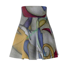 Load image into Gallery viewer, ABSTRACT Collection Women's Skater Skirt - Art by Zana