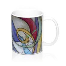 Load image into Gallery viewer, ABSTRACT Collection Mug 11oz - Art by Zana