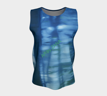Load image into Gallery viewer, SHADES OF BLUE - Loose fitting Top - Art by Zana