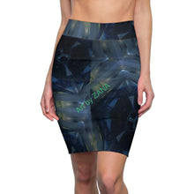 Load image into Gallery viewer, GOTH Women's Pencil Skirt - Art by Zana