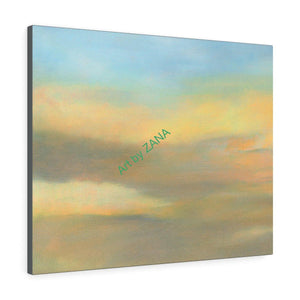 SUNSET Art Print Collection Canvas Gallery Wraps - Art by Zana