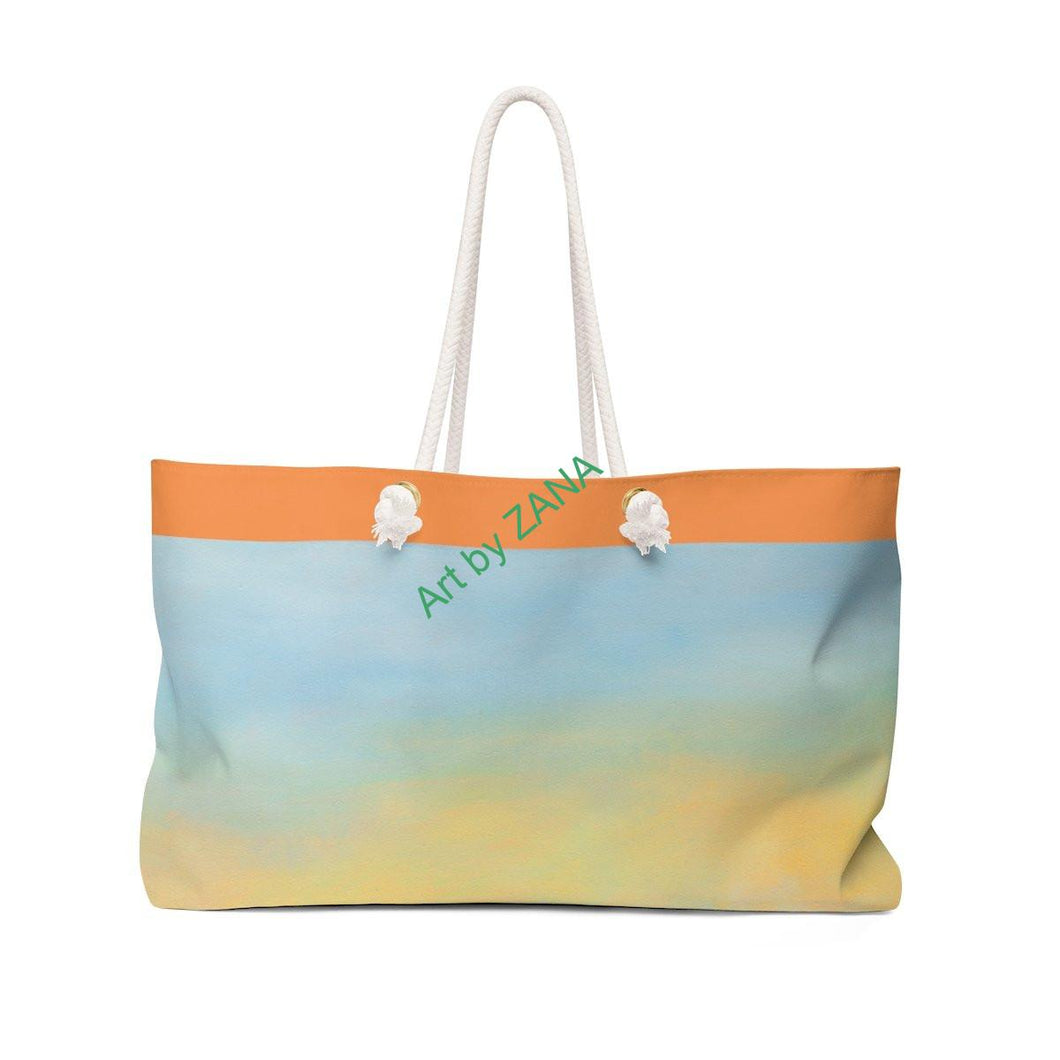 FRESH Sunset Weekender Bag - Art by Zana