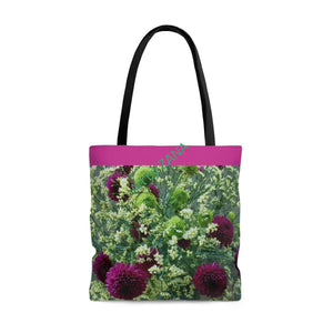 FRESH Floral AOP Tote Bag - Art by Zana