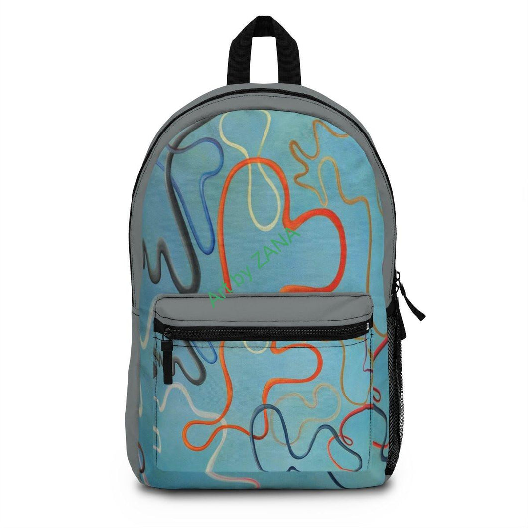 Cosmic String Backpack - Art by Zana