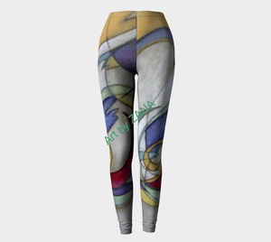 ABSTRACT Urban Apparel - Art by Zana