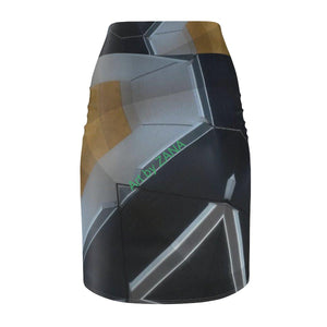 GOTH Collection Women's Pencil Skirt - Art by Zana