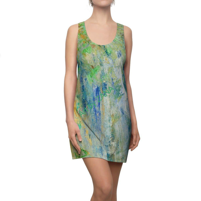FRESH Women's Cut & Sew Racerback Dress - Art by Zana