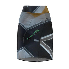 Load image into Gallery viewer, GOTH Collection Women's Pencil Skirt - Art by Zana