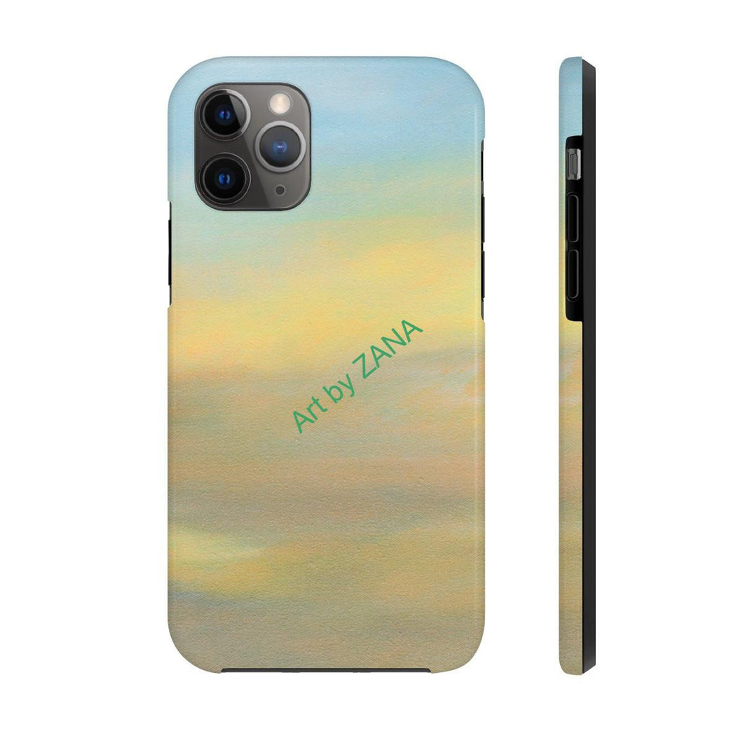 FRESH Sunset Collection Case Mate Tough Phone Cases - Art by Zana
