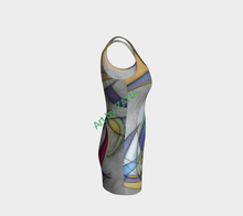 Load image into Gallery viewer, ABSTRACT Urban Dress - Art by Zana