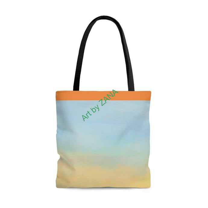 FRESH Sunset  Tote Bag - Art by Zana