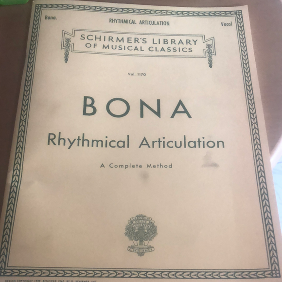 Bona Rhytmical Articulation