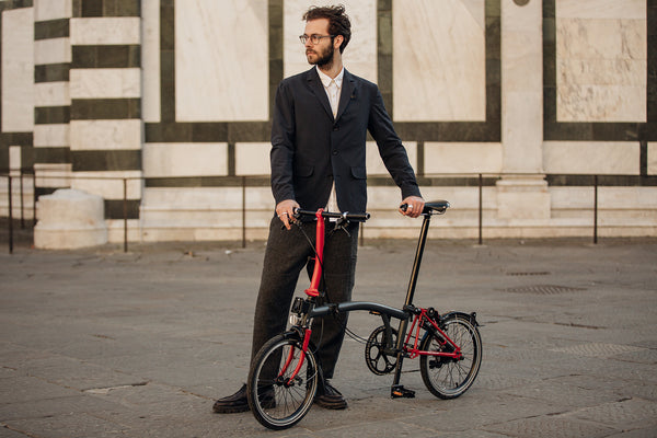Tailored for two wheels - introducing the Brompton Blazer