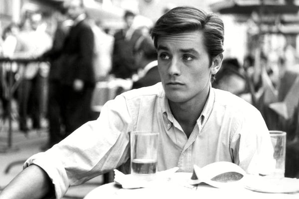 Alain Delon and the glory of the shirt