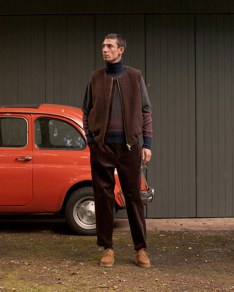 Cars and coats by Oliver Spencer