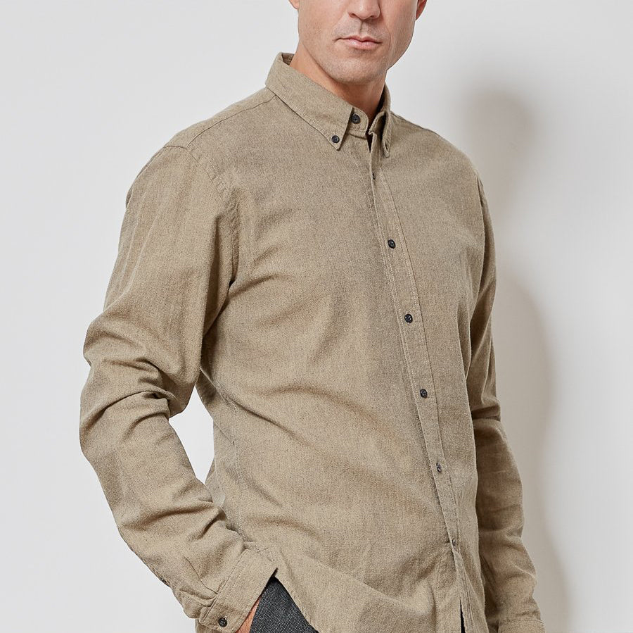 Brook Shirt Abbingdon Fawn