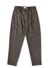PLEATED TROUSERS KENDRICK CHARCOAL