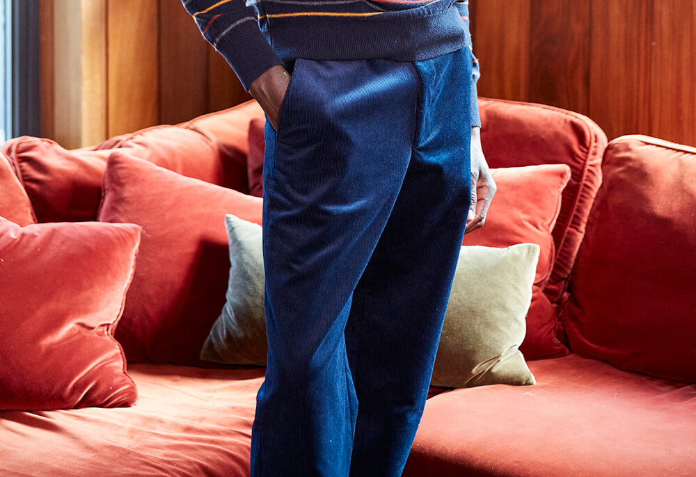 Corduroy trousers by Oliver Spencer