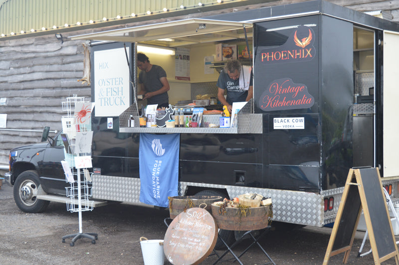 Mark Hix Oyster and Fish truck