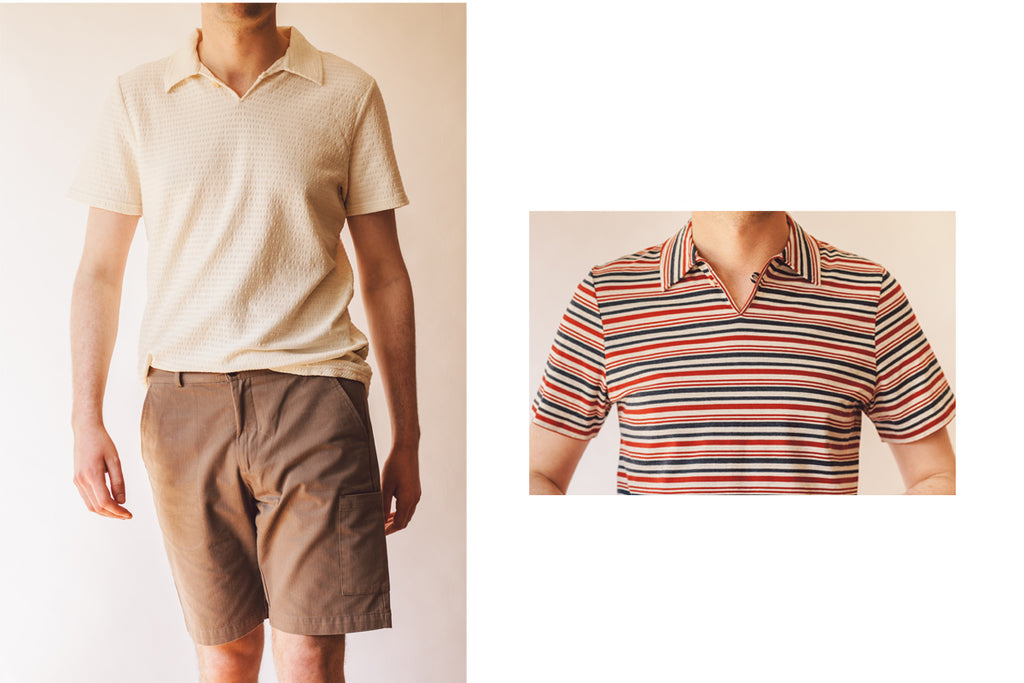 Oliver Spencer short-sleeved shirts.