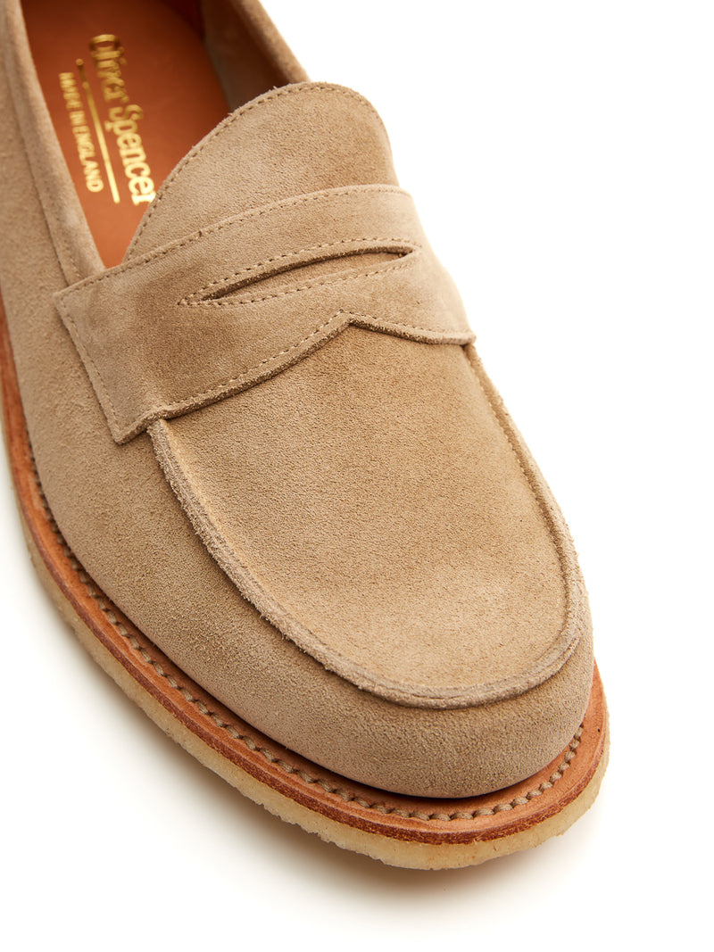 Edwin Loafer Sand Suede
