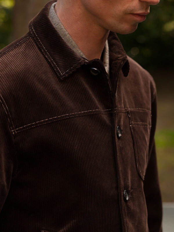 Buffalo Jacket Kingsley Cord Brown