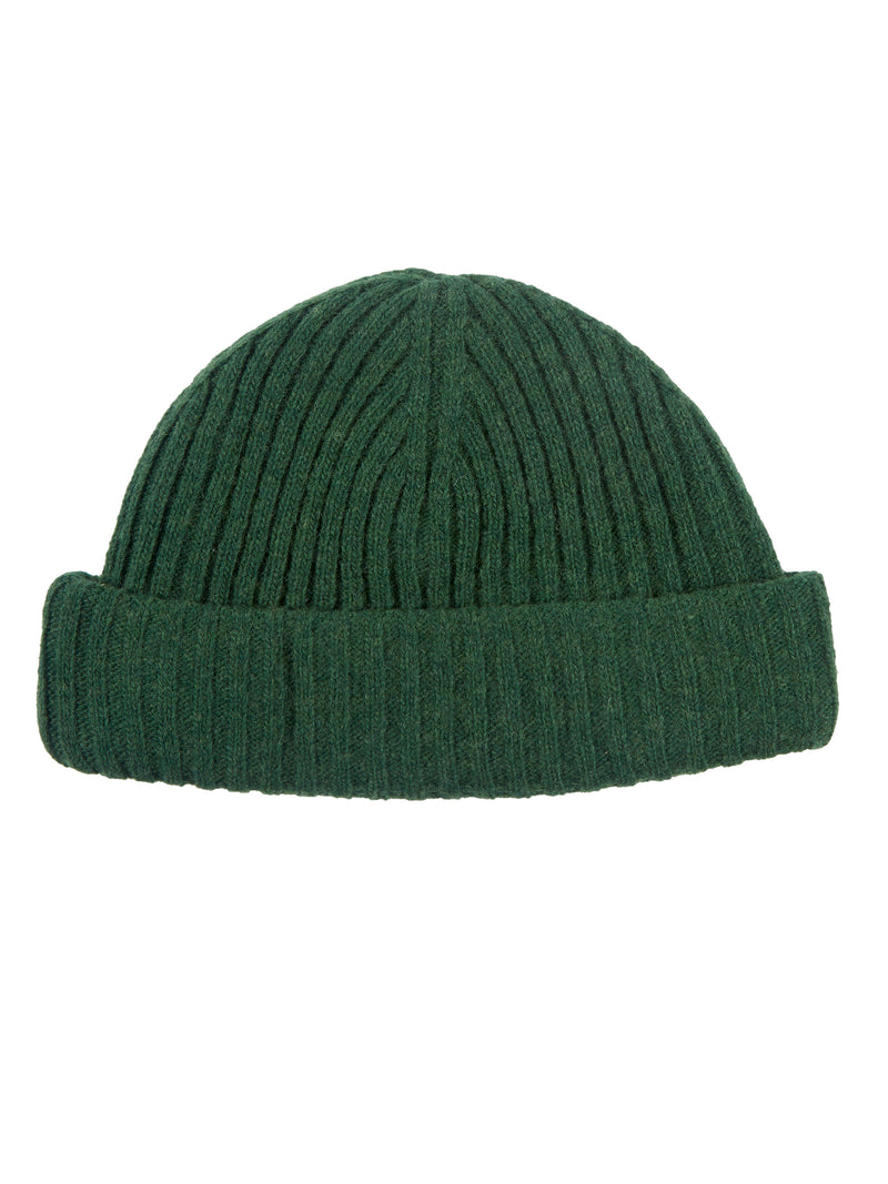 Dock Hat Rib Forest Green