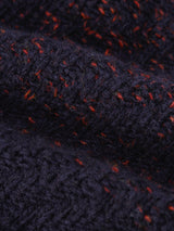 Talbot Roll Neck Jumper Basing Navy